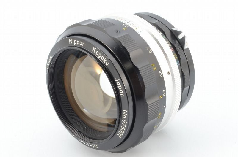 [EXC] Nikon Nikkor S Auto 55mm F1.2 MF Lens from Japan