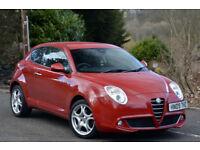 Alfa Romeo MiTo 1.4TB 120bhp Lusso RED