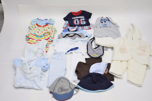 24 pieces Baby Boy Clothes 0 to 12 Months