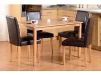 Belgravia Dining Table Set with 4 or 6 chairs
