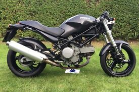 Ducati Monster 620ie Dark 2003 Cafe Racer