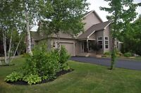 Executive Semi in Dieppe with outside Oasis! OPEN HOUSE SUNDAY