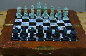 Deluxe Chess Set, Large, Chinese theme, asking $35 in Erin