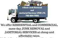 A Bash Junk Removal  and Janitorial Services