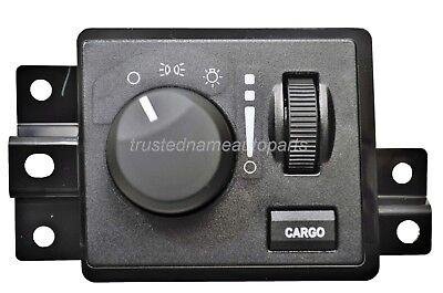 Headlight Switch without Auto Headlight without Fog Lights with Cargo Light