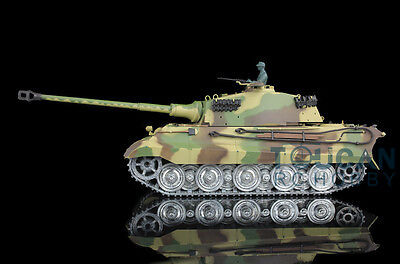 US Stock Fast Free HengLong 1/16 King Tiger RTR RC Tank Metal Track Wheels 3888A