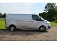 2014 64 FORD TRANSIT CUSTOM 2.2 TDCI 125PS 290 H1 L2 LIMITED EDITION LONG WHEEL
