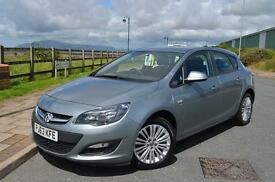 2013 63 VAUXHALL ASTRA 1.4i 16V Energy 5dr in silver