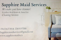 Sapphire Maid Services- 1 HOUR FREE