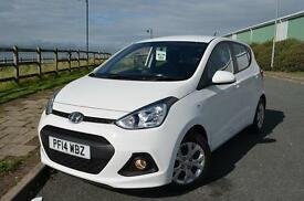 2014 14 HYUNDAI I10 1.2 SE 5dr in Pure White