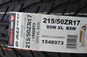General Tire G-MAX AS-03 215/50ZR17 Gatineau Ottawa / Gatineau Area image 2