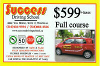 Driving course - New group starts on May 30th - (514)402-9594
