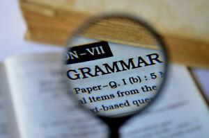Tutoring Service - Grammar