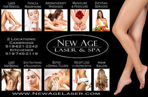 Aesthetician Wanted & Laser Technician Kitchener / Waterloo Kitchener Area image 1