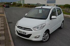 2013 13 HYUNDAI I10 5dr Hat 1.2 Active in Crystal White