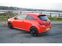 2015 65 VAUXHALL CORSA 1.2 Limited Edition 3dr in Flame