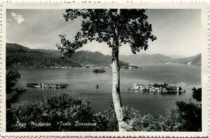 1951-Verbania-Vista-Lago-Maggiore-Isole-Borromee-Italia-Lavoro-FP-B-N-VG-Stresa