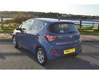 2014 64 HYUNDAI I10 5dr Hat 1.0 66ps SE in Blue