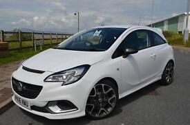 2016 16 VAUXHALL CORSA 1.6T VXR 3dr in Summit White