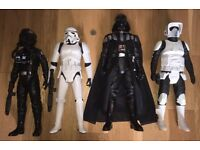 Star Wars action figures - like new!!
