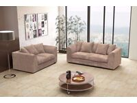 ❤Choose Any Color or Style❤Brand New Dylan Jumbo Cord Corner or 3+2 Sofa - Avlble in Left/Right Hand