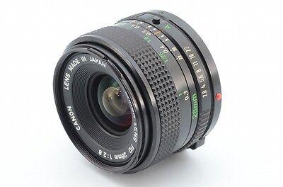 Объективы Canon LENS FD 28mm f/2.8