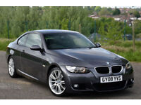 BMW 320 2.0TD 2008MY d M Sport Grey 2008 Coupe