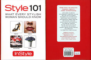BNWOT Style 101 Book From InStyle Magazine