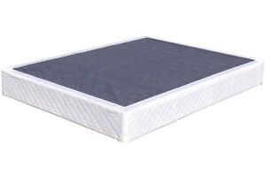 Newish white queen size box spring $100. Free delivery