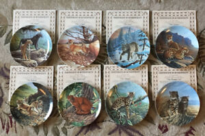 "Collectors Plates ""The Great Cats of the Americas"""