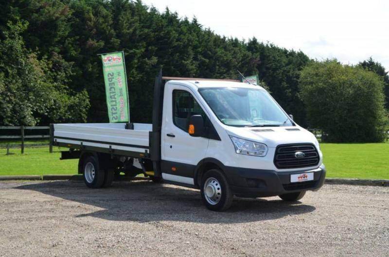 71ebf92443 2015 15 FORD TRANSIT 2.2 TDCI 350 EXTENDED FRAME DROPSIDE DRW 125 BHP DIESEL