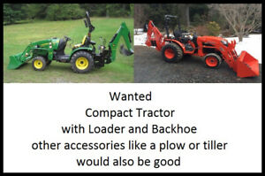 Tired of paying for your Compact Tractor you don't use?