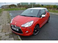 2012 62 CITROEN DS3 1.6 VTi 16V DStyle Plus 3dr in Red