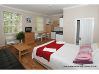 Short Let self- catering apartments. Fully furnished apartment in Swiss Cottage- London(#FR3)