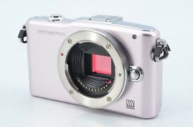 Olympus PEN Mini E-PM1 Digital Camera Digital SLR 12.3MP M4/3 Body Only | Mint Condition | Leeds UK
