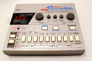 Vintage Korg Percussion drum machine DDM-220