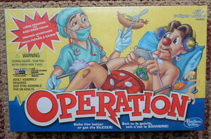 Operation Game by Hasbro New never Opened