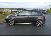 2015 65 VAUXHALL CORSA 1.6T VXR 3dr in Carbon Flash