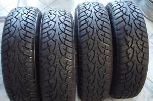 185/55/15 Wanli Snow Grip Winter Tires For Sale –LIKE NEW!!