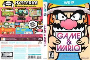 Looking for Game and Wario for the Wii U