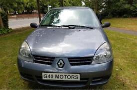 Renault Clio 1.2 Campus 2007 Reg * ONLY 66,000 MILES 3 Door Hatchback Blue