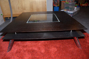 PRICE REDUCED: Modern Coffee table and end table set