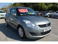 2013 13 SUZUKI SWIFT 1.2 SZ2 3dr in Grey