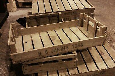 8 Vintage wedding box rustic antique farm tray table centerpiece v - Farm Centerpieces