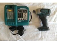 MAKITA 18 VOLT CORDLESS IMPACT DRIVER AND CHARGER FOR SALE