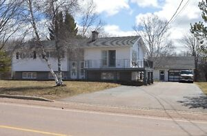 Dieppe - Home with In-law suite and running brook!!