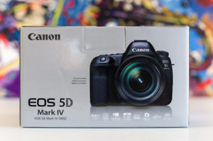 ★Canon EOS 5D Mark IV DSLR ★1YEAR WARRANTY★