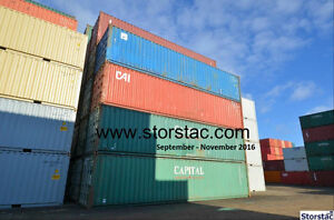 10', 20', 40' Steel Storage / Shipping Containers -Pick Your Own