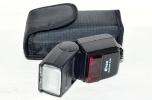 Mint condition and perfect working flash light for Nikon camera