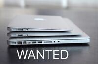 Buying all MacBooks & Imacs ! Same day cash ! 2009+ models only!